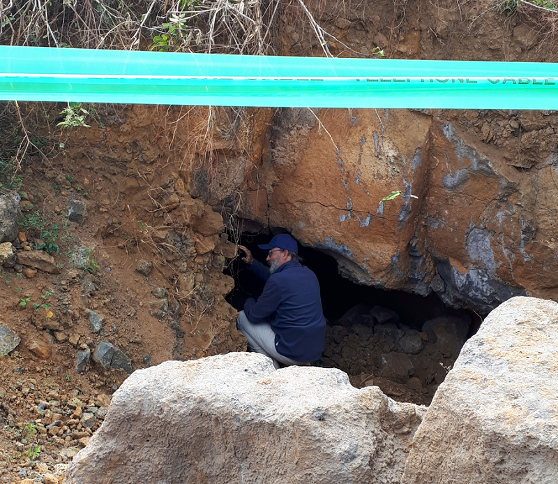 Recherche de cavités en sismique – île Maurice