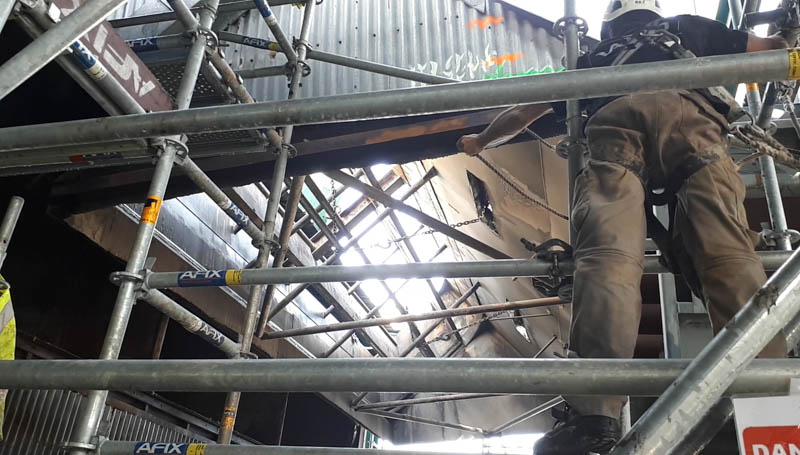 Asbestos removal of a   Thermal Power Plant  – Reunion Island  (97)
