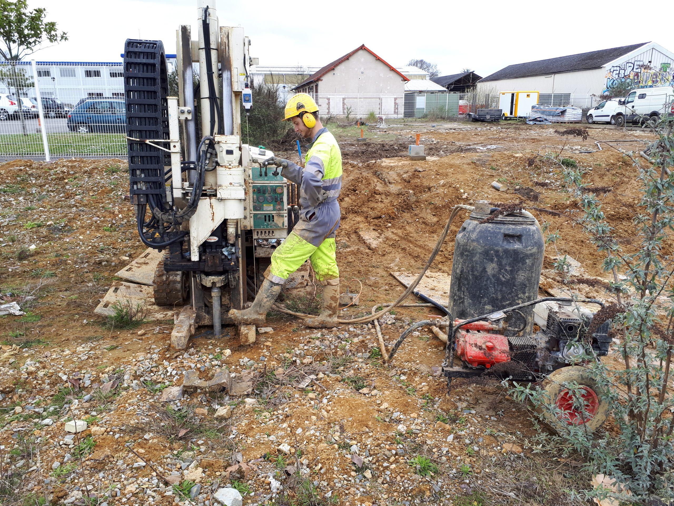 Remediación del terreno Euro SHELTER – Rennes (35)