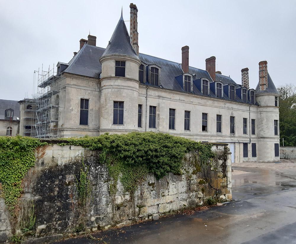 VALGO désamiante le château de Villers Cotteret